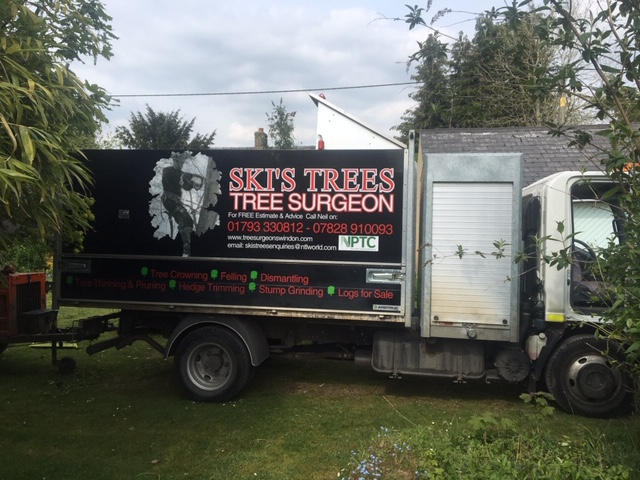 Ski's Trees, Tree Surgeon's Van